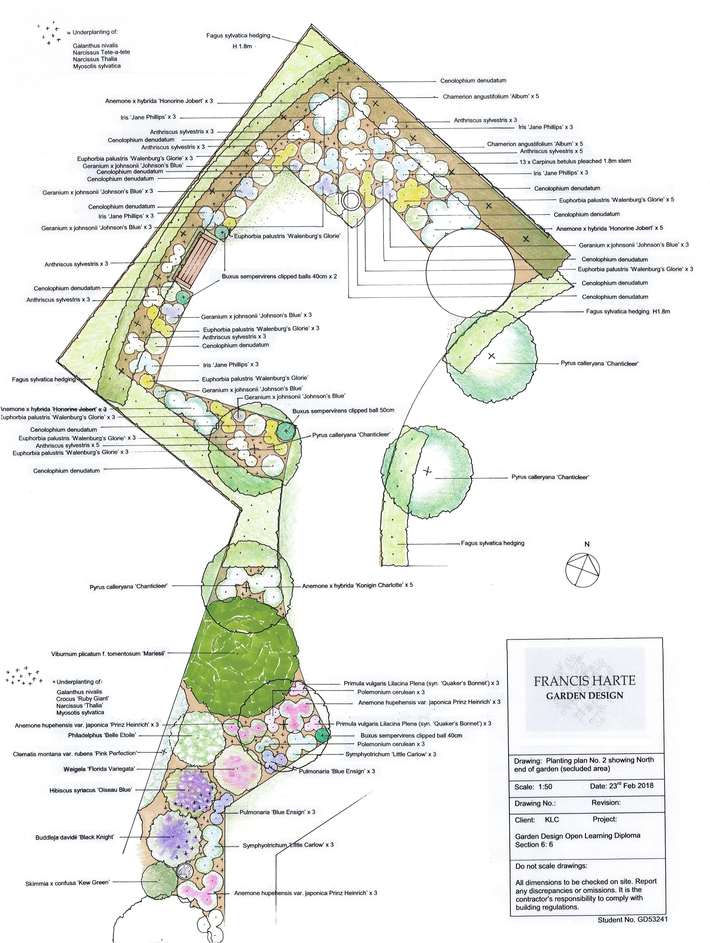 Planting Plan 2